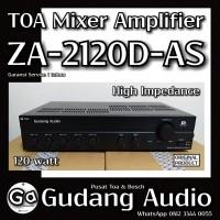 Toa Mixer Amplifier ZA-2120 D-AS (120w) untuk impedansi tinggi