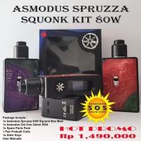asMODus Spruzza 80W Squonk Kit Authentic - Ungu