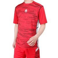Baju Olahraga Futsal Baju Badminton MILLS . Code: 1004 Red - Merah, S