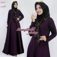 Jual Gamis polos jersey creep/mis bee waffle all size Limited