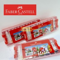 Cat Air /Watercolor Faber Castell 12 warna plastic case