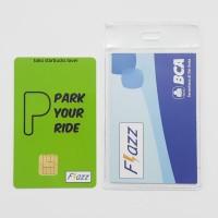 Kartu Flazz BCA Saldo 0 Signs Series - Park Your Ride