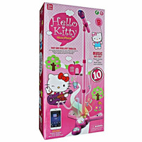Mainan Anak - Happy Little Singer Mic Microphone Hello Kitty Nyanyi
