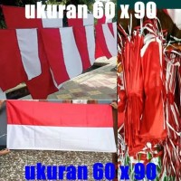 Bendera Umbul Umbul Bendera Merah Putih Ukuran 60 X 90 Baru