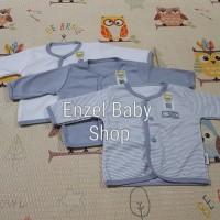 PROMO 1 Set Baju Tgn Panjang bis Abu 3pcs Newborn / baby FLUFFY / SNI