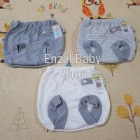 PROMO 1 Set Celana Pop Abu 3 pcs size L / baby FLUFFY / SNI