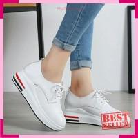 Sepatu Wanita Kets Casual Kenya SDS258 Putih