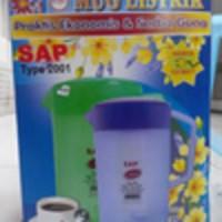 SAP Mug Teko Listrik Model Persegi Panjang Type 2001- 2.2L