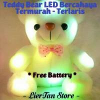 Boneka Teddy Bear LED Bercahaya IMPORT - TERMURAH