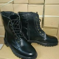 Sepatu boots PDH polri tni satpam security pantofel GP