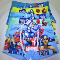 204 Celana Dalam Anak Boxer Marvel Heroes