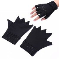 Sarung Tangan Terapi / Magnetic Therapy Gloves support Hand HITAM