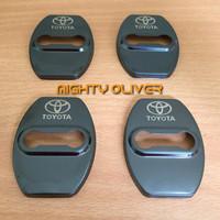car door lock cover fortuner / yaris / avanza / rush / calya / sigra
