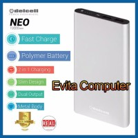 Powerbank 10000mAh DelCell Neo Polymer Battre Real Capacity