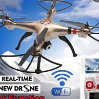 Jual Drone Camera Syma X8HW X8HW-1 WIFI FPV Altitude Hold True HD