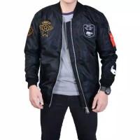 Jaket Bomper pria Jaket Cowok premium Fashion Musim Dingin dan Panas
