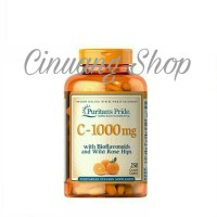 Puritans Pride Vitamin C 1000 mg with Bioflavonoids-Rose Hips isi 100