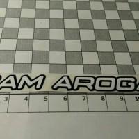 Cutting stiker helm Team Arogan murah