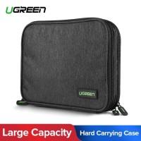 Ugreen Travel Bag Case Tas Penyimpanan Power Bank Kabel Charger Hdd