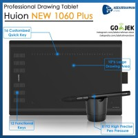 Huion New 1060 Plus 1060P Pro Pen Tablet Desain Grafis like WACOM