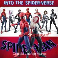 Spiderman Into The Spider Verse Kartun Action Figure Mainan Anak - Nomor 7