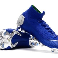 nike mercurial superfly 360 elite blue sepatu bola