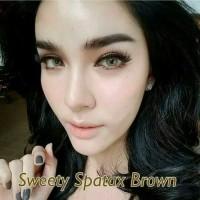 SWEETY SPARTAX BROWN SOFTLENS / BISA MINUS