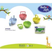 Baby Safe Food Masher Bowl Food Maker Mangkok Grinder Bayi AP008
