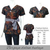Atasan batik wanita - Blouse Batik -BLOUSE-BATIK WANITA