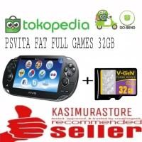 PS VITA FAT / PSVITA FAT CFW PAKET MEMORY 32GB FULL GAME