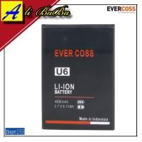 Baterai Handphone Evercoss U6 Xtream 1 Plus Double Power Evercoss U6