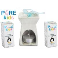 Pure baby inhalant paket 2 free tungku