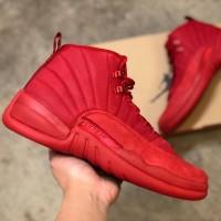 Sepatu Nike Air Jordan 12 Retro Gym Red Premium Original Sneakers