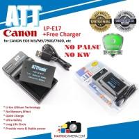ATT Battery Canon LP-E17 Baterai Batere for EOS M3/M5/750D/760D, etc