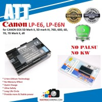 ATT Battery Canon LP-E6N/-E6 Baterai Batere for EOS 5DII/5DIII/7D/70D