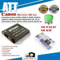 ATT Battery Canon NB-11LH/-11L Baterai Batere for PowerShot / ELPH