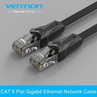 [IBA - 10M] Vention Kabel Flat LAN RJ45 Cat6 UTP
