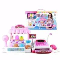 mainan anak kasir kasiran ice cream/ice cream store cash register