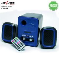 Speaker Aktif Advance DUO-200 Support Flashdisk MicroSD Radio dan AUX