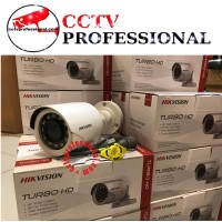 NEW PROMO HIKVISION HYBRID 4IN1 OUTDOOR 2MP DS-2CE16DOT-IPF