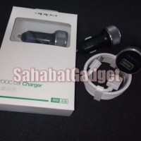 OPPO VOOC CAR CHARGER FAST PLUS CABLE VOOC ORIGINAL OPPO CHARGER MOBIL