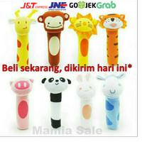 mainan tangan bayi bunyi toet baby hand rattle stick soft toys