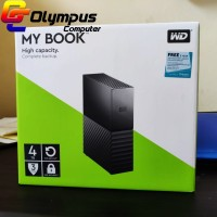 "WD My Book 4TB - HDD / HD / Hardisk Eksternal / External 3.5"" USB 3.0"