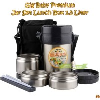 MAK89 GIG BABY PREMIUM JAR SET LUNCH BOX 1,5 LITER TERMOS MAKAN