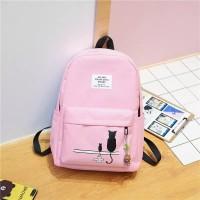 Tas / Tas wanita / Ransel / Backpack / Tas Sekolah / Tas Import -Dark