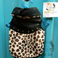 Kemeja Costume Pet Fashion Doggy Baju Anjing Jaguar Fur size M