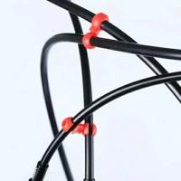 Clip Cable Housing Sepeda Warna Merah