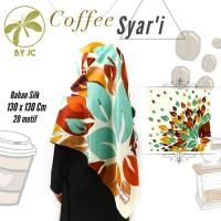 Jilbab Segiempat Coffee Syari D01 By JC