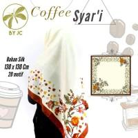 Jilbab Segi empat Coffee Syari D19 By JC