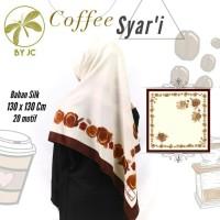 Jilbab Segiempat Coffee Syar'i D20 By JC
